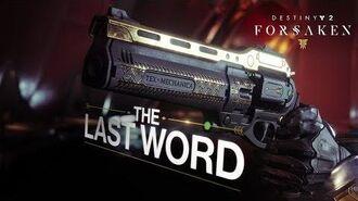 """Destiny 2 Forsaken-Jahrespass – """"Das Letzte Wort""""-Trailer DE"""