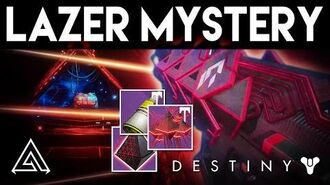 Destiny Rise of Iron Secret Lazer Room Mystery - Exotic Raid Weapon Quest?