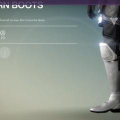 Sojourn ブーツ