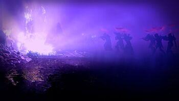 Dunkelheit-Darstellung