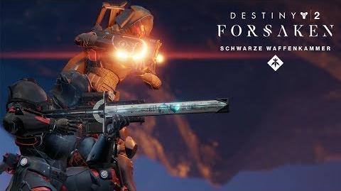 Destiny 2 Forsaken-Jahrespass - 'Waffen der Schwarzen Waffenkammer'-Trailer DE
