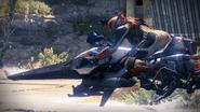 Titan on a Shrike