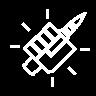 Cascada ventaja icono