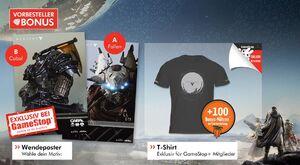 T-Shirt und Poster