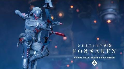 Destiny 2 Forsaken-Jahrespass - Schwarze Waffenkammer - Izanami-Schmiede-Trailer DE