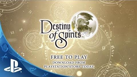 Destiny of Spirits Launch Trailer (PS Vita)