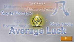Avg luck