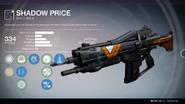 Shadow Price (Year 2) UI