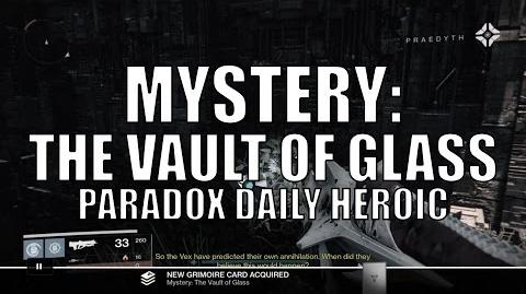 "Destiny - New Dead Ghost ""Mystery The Vault of Glass"""