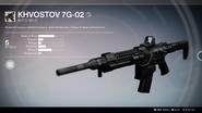 Khvostov 7G-02 UI