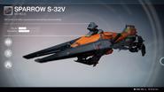 Sparrow S-32V UI
