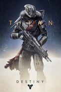 Destiny Character Art Titan