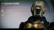 Axiom Coven (Helmet) UI