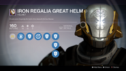 TTK Iron Regalia Great Helm Overlay
