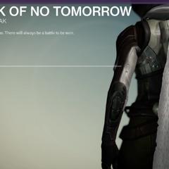 明日なき者のクローク
