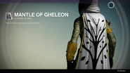 Mantle Of Gheleon
