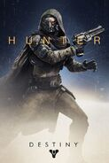 Destiny Character Art Hunter