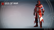 God of War UI