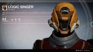 Logic Singer (Helmet) UI