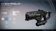 Nox Praeli III UI