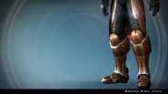 Kabr's Forceful Greaves (Year 3) (Ornament 1)