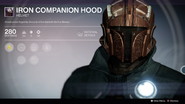 Iron Companion Hood UI