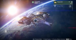 Destiny First Look Alpha ビルドのゲーム内のスクリーンショット