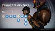 TTK Brazen Grips Overlay