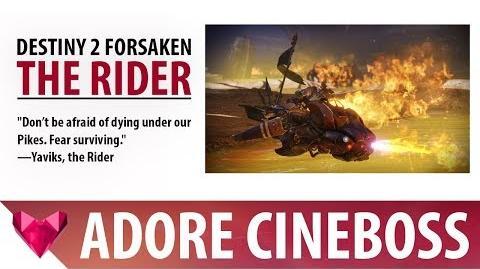 Destiny 2 Forsaken Baron Yaviks, The Rider - Cinematic Boss Fight