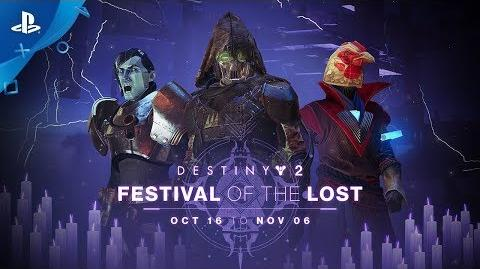 Destiny 2 – Festival of the Lost Trailer PS4