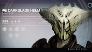 Darkblade Helm (with perks)