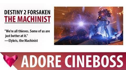 Destiny 2 Forsaken Baron the Machinist