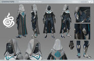 Destiny 2 Hunter Parade Armor Character Sheet