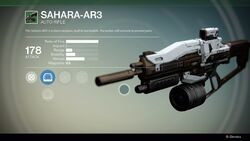 Sahara AR3