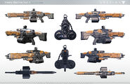 Destiny Heavy Machine Gun