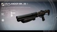 Outlander Mk. 26 UI