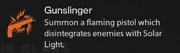 ガンスリンガーのサブクラス