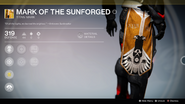Mark of the Sunforged UI