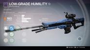 TTK Low-Grade Humility Overlay