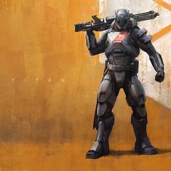 E3 2013で紹介されたタイタンのコンセプトアート