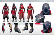 Destiny Warlock 1 Character Sheet