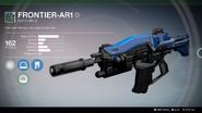 Frontier-AR1 UI