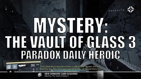 "Destiny - New Dead Ghost ""Mystery The Vault of Glass 3"""