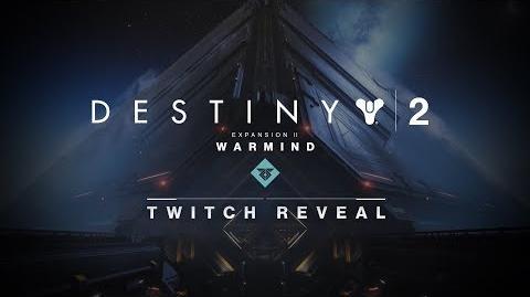 'Warmind' Reveal Intro
