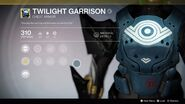 Twilight Garrison Menu