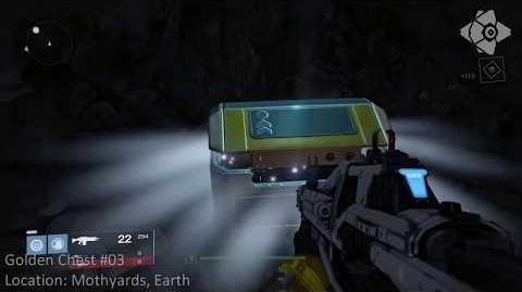 Destiny Wiki Golden Chest Location - Earth 03