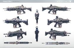 Destiny Assault Rifle 1
