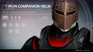 Iron Companion Helm UI