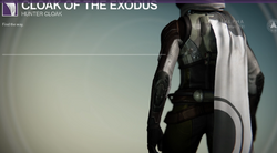 Cloak of the Exodus