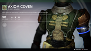 Axiom Coven (Chest Armor) UI